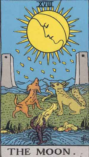 The Tarot in pictures: The Major Arcana in order